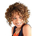 cheap Synthetic Capless Wigs-Synthetic Wig Curly Synthetic Hair Wig Women's Short Capless