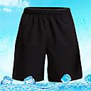 billige Løbetøj-Herre Sport Ensfarvet Hængende Shorts Underdele Afslappet Fritidssport Basketbold Sportstøj Elastisk