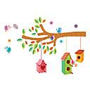 billige Veggklistremerker-Dyr Mote Botanisk Veggklistremerker Fly vægklistermærker Dekorative Mur Klistermærker Højde klistermærker, Plast Hjem Dekor
