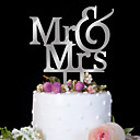 cheap Cake Toppers-Cake Topper Birthday Wedding High Quality Plastic Birthday Party Evening with 1 PVC Bag