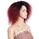 preiswerte Haarzöpfe-Geflochtenes Haar Locken Lockige Zöpfe / Echthaar Haarverlängerungen 100% kanekalon haare Haar Borten Häkeln mit menschlichem Haar Alltag Brasilianisches Haar