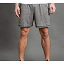 cheap Cycling Jersey & Shorts / Pants Sets-WOSAWE Men's Running Shorts / Running Split Shorts - Gray Sports Shorts Fitness, Gym, Workout Activewear Breathable, Fitness, Running & Yoga, Quick Dry Stretchy