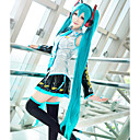 tanie Peruki do cosplay gier video-Vocaloid Hatsune Miku Peruki Cosplay Damskie 48 in Fiber odporne na ciepło Anime