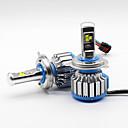 cheap Car Headlights-SO.K H4 Car Light Bulbs 35 W High Performance LED 7000 lm Headlamp