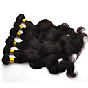 お買い得  人毛つけ毛-ブラジリアンヘア ウェーブ 人毛 人間の髪編む 人間の髪織り ホット販売 人間の髪の拡張機能
