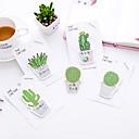 halpa Toimiston perustavarat-1 kpl kaktus itsekiinnittyvät muistiinpanot 30 sivua (satunnainen väri)