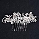 billige Festhovedtøj-Legering Hair Combs / Hovedtøj med Blomster 1pc Bryllup / Speciel Lejlighed / Fødselsdag Medaljon