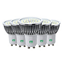 cheap LED Globe Bulbs-YWXLIGHT® 5pcs 7W 600-700lm GU10 LED Spotlight 48 LED Beads SMD 2835 Decorative Warm White Cold White Natural White 85-265V