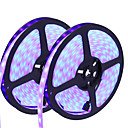 cheap Wedding Flowers-HKV 10m Flexible LED Light Strips 300 LEDs 5050 SMD RGB Cuttable / Dimmable / Waterproof 12 V / Linkable / Self-adhesive / Color-Changing / IP67