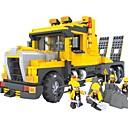 tanie Building Blocks-Klocki Koparka Zabawa Klasyczny Dla chłopców Dla dziewczynek Zabawki Prezent