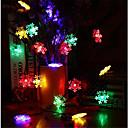 abordables Tiras de Luces LED-10m Cuerdas de Luces 60 LED RGB Impermeable 220 V / IP65
