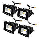 billige Flomlys-Jiawen 4pcs led floodlight 10w utendørs spotlight flood light vanntett ip65 profesjonell belysning lampe ac85-265v