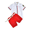 cheap Baby Boys' Clothing Sets-Toddler Boys' Stripe Cotton Clothing Set