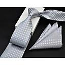 abordables Joyería para Hombre-Hombre Estampado, Algodón Corbata - Formal Art Decó