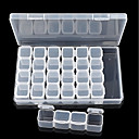 preiswerte Andere Nagelstudio Werkzeuge-1pc Nagel Kunst Aufbewahrungsbox Transparent Körper Nagel Kunst Maniküre Pediküre Tragbar Alltag