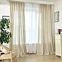 povoljno Prozorske zavjese-obične zavjese nijansi dvije ploče spavaća soba u boji ručne izrade