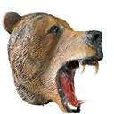 cheap Masks-Halloween Mask Animal Mask Bear Horror Glue Pieces Unisex Adults' Gift