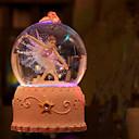 olcso Dekoratív tárgyak-1db Gyanta Modern / kortárs / Karácsony / Újévi mert Lakásdekoráció, LED-es fényforrás Ajándékok