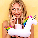 cheap Kitchen Tools-Inflatable Unicorn Floating Cup Holder For Beverage Boats Stand Holder Party Supplies