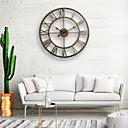"cheap Rustic Wall Clocks-20"" Country Style Metal Wall Clock"