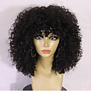 cheap Kigurumi Pajamas-Human Hair Glueless Full Lace / Full Lace Wig Brazilian Hair Kinky Curly Wig Layered Haircut / With Baby Hair 130% Ombre Hair / Natural Hairline / African American Wig Women's 10 inch / 12 inch / 14