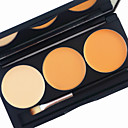 cheap Concealers & Contours-3 Color in 1 Palette,  2 Color Palette Choose colors Foundation / Concealer / Contour / Blush Dry / Wet / Matte Liquid Whitening / Wrinkle Reduction / Moisturizing Men / Women / Daily Ammonia Free