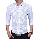 cheap Men's Sneakers-Men's Cotton Shirt Print