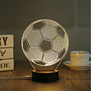 cheap Night Lights-1 Set, Popular Home Acrylic 3D Night Light LED Table Lamp USB Mood Lamp Gifts, football