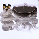 cheap Synthetic Capless Wigs-Brazilian Hair Body Wave Hair Weft with Closure Human Hair Weaves Hot Sale / 8a Human Hair Extensions