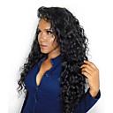 povoljno Perike s ljudskom kosom-Ljudska kosa Perika s prednjom čipkom bez ljepila Lace Front Perika Stražnji dio stil Brazilska kosa Kovrčav Priroda Crna Perika 250% Gustoća kose 14-24 inch s dječjom kosom Prirodna linija za kosu