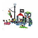 levne Building Blocks-ENLIGHTEN Stavební bloky 310 pcs Pirát Piráti Dárek