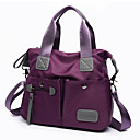 cheap Shoulder Bags-Women's Bags Nylon Tote for Event / Party / Formal / Outdoor Black / Purple / Fuchsia