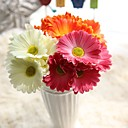 abordables Decoraciones Navideñas-Flores Artificiales 1 Rama Estilo europeo Plantas Flor de Mesa