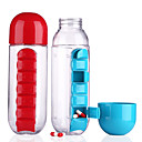 cheap Drinkware Accessories-Drinkware Plastics Water Bottle Water Pot & Kettle Cup & Saucer Clear Water Pitcher Travel Convenient 1pcs