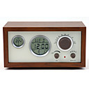 cheap Accessories For GoPro-SY-601 FM Alarm Clock World Receiver Coffee / Brown
