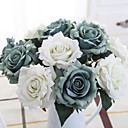 cheap Artificial Flower-Artificial Flowers 5 Branch European Style Roses Tabletop Flower