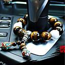 olcso Autós függők, díszítőelemek-Diy autóipari kiváló minőségű autó medál standokon gyöngyök természetes tigris szem kő autó medál&Díszek jade