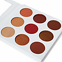 cheap Concealers & Contours-Makeup 9 colors Adult Professional Level Combination / Dry / Normal Eyeshadow Palette / Eye Shadow / Grooming Supplies Grooming / Powder Daily Makeup / Halloween Makeup / Party Makeup / Matte