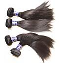 رخيصةأون شعر انسان-شعر مستعار طبيعي مستقيم شعر من البيرو 600 g أكثر من سنة واحدة