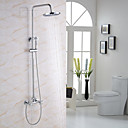 cheap LED Wall Lights-Shower Faucet - Modern / Contemporary Chrome Shower System