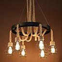 preiswerte Pendelleuchten-6-Licht Pendelleuchten Moonlight - Ministil, Inklusive Glühbirne, 110-120V / 220-240V, Wärm Weiß, Glühbirne nicht inklusive / 5-10㎡