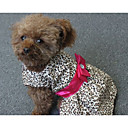cheap Chandeliers-Dog Dress Dog Clothes Stripe Polyester Costume For Pets Women's Casual/Daily