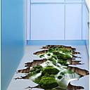 voordelige Muurstickers-3D Muurstickers 3D Muurstickers Decoratieve Muurstickers, Muovi Huisdecoratie Muursticker Verdieping