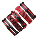 cheap Men's Bracelets-Men's Women's Wrap Bracelet Leather Bracelet - Leather Bohemian Bracelet Red For Gift Going out