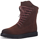 cheap Men's Boots-Men's Bootie Fur Fall / Winter Boots Booties / Ankle Boots Black / Brown