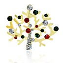 cheap Science & Exploration Sets-Synthetic Diamond Brooches - Rhinestone Classic Brooch Assorted Color For Christmas