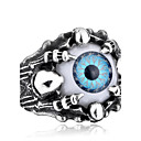 cheap Men's Rings-Men's Ring - Stainless Steel, Titanium Steel Personalized, Fashion 7 / 8 / 9 Gray / Blue For Halloween / Daily / Casual