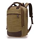 preiswerte Laptoptaschen-Herrn Taschen Segeltuch Laptop Tasche Reißverschluss Blau / Kaffee / Khaki