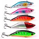 cheap Fishing Lures & Flies-5 pcs Fishing Lures Hard Bait Plastic ABS Sea Fishing Trolling & Boat Fishing Lure Fishing