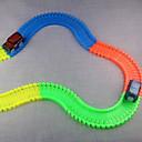 baratos Carros de brinquedo-Carros de Brinquedo Carrinhos com Pista Carrinho Clássico Inovador Brilha no Escuro Fluorescente Noctilucente ABS Crianças Para Meninos Para Meninas Brinquedos Dom